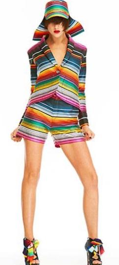 vestidos muy coloridos