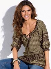 blusas sueltas modernas
