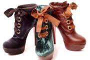 Botines de moda 2012