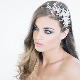 peinados de novia con tocados