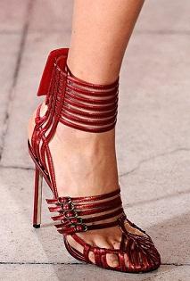 zapatos con hebillas