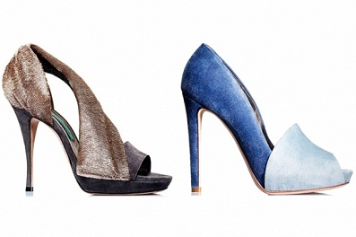 zapatos tornasolados