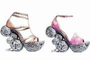 Zapatos de colores hermosos de moda 2012
