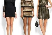 Vestidos cortos de cóctel 2012