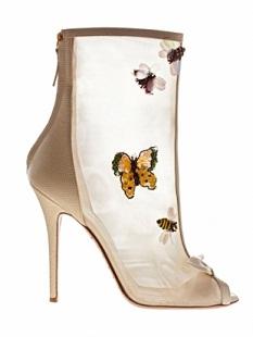 zapatos de moda colorida