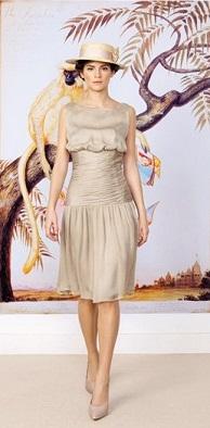 vestidos satinados