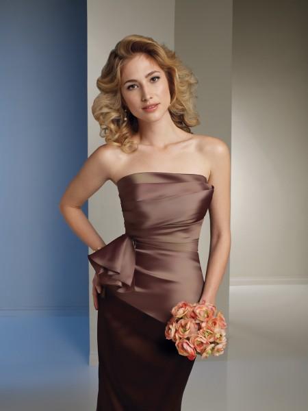 vestidos largos dama de honor