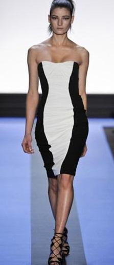elegantes vestidos cortos