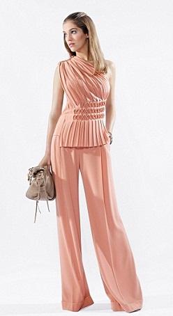 vestidos combinados de colores
