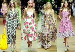 vestidos floreados de tendencia