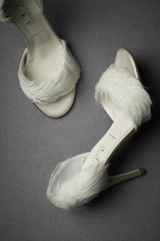 zapatos de novia moderna