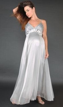 Vestido de fiesta embarazada 2012