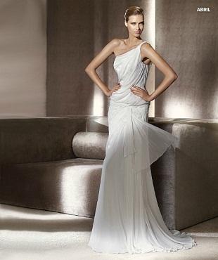 vestidos sencillos de novia