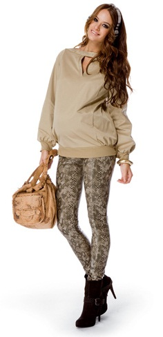 pantalones ajustados a la moda