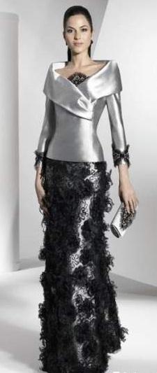 trajes elegantes madrinas