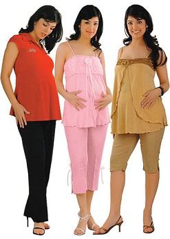 ropa casual de maternidad