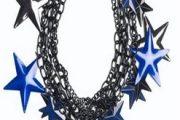 Modernos accesorios brillantes de moda