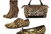 Calzados y bolsos con estampados de moda 2012