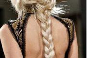 Peinados 2012 con trensas