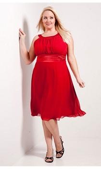 Modelos De Vestidos Rojos Para Gorditas Aquimodacom