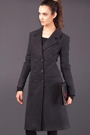 abrigos largos mujer 2012