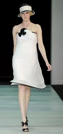 vestidos cortos color blanco