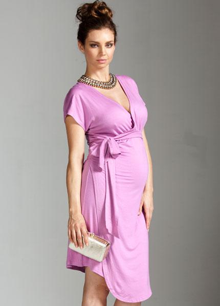 moda elegante de maternidad