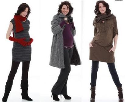 vestidos de invierno embarazadas