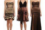 Vestidos de colores elegantes para fiestas