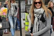 Modelos de bufandas de moda 2012