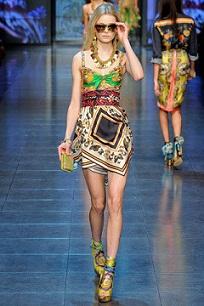 vestidos cortos coloridos