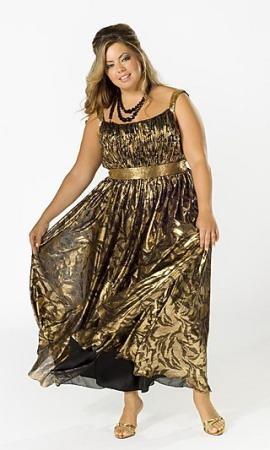 vestidos de gala gorditas