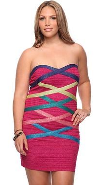 vestidos coloridos gorditas