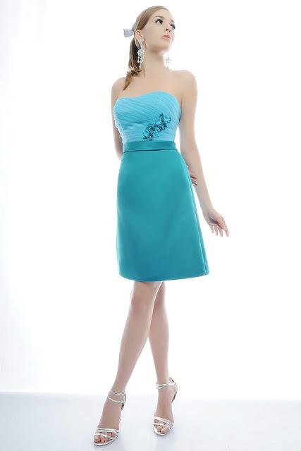 Vestidos cortos para damas de honor | AquiModa.com: vestidos de ...