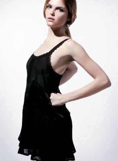 vestidos cortos asimétricos