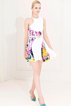 vestidos estampados de fiesta