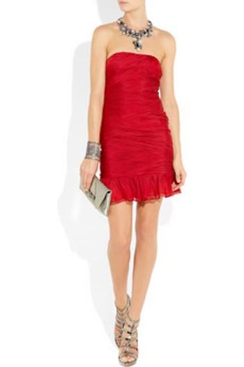 vestidos sensuales color rojo