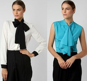 blusas casuales 2012