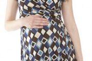 Modelos de vestidos casuales para embarazadas