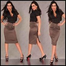 faldas apretadas