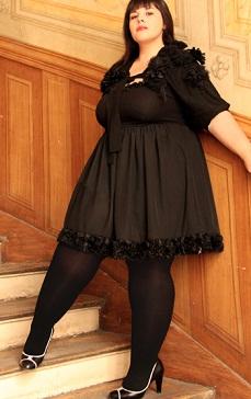ropa elegante gorditas