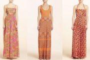 Modelos de vestidos floreados 2012