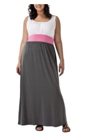 vestidos largos para rellenitas