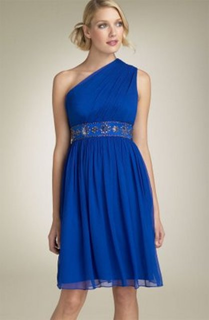 vestidos azules de fiesta