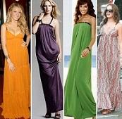 vestidos largos flojos