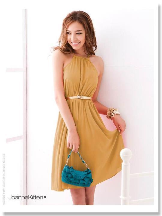 vestidos de colores para el día