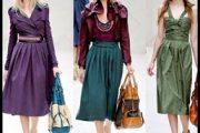 Modelos de vestidos con plisados