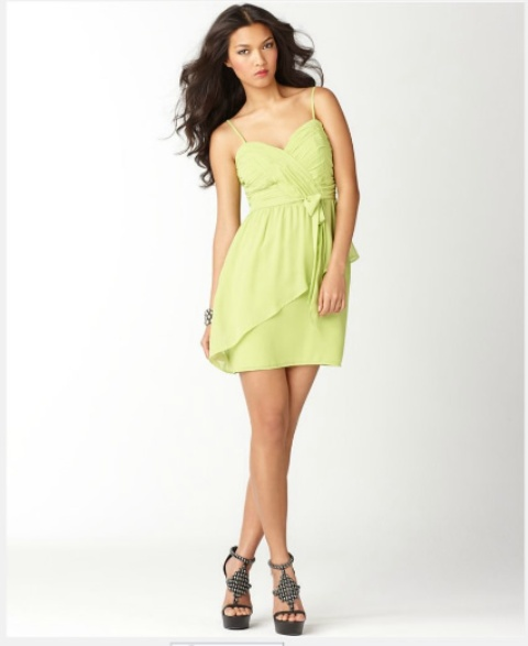 vestidos con pliegues