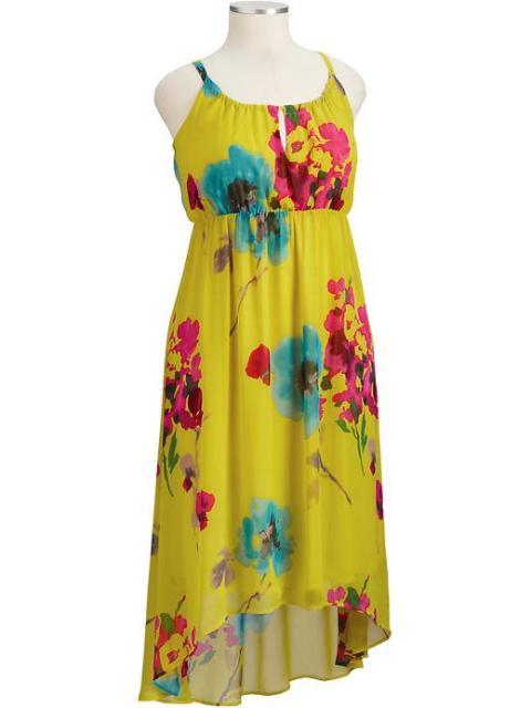 vestidos florales