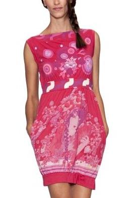 vestidos floreados 2012